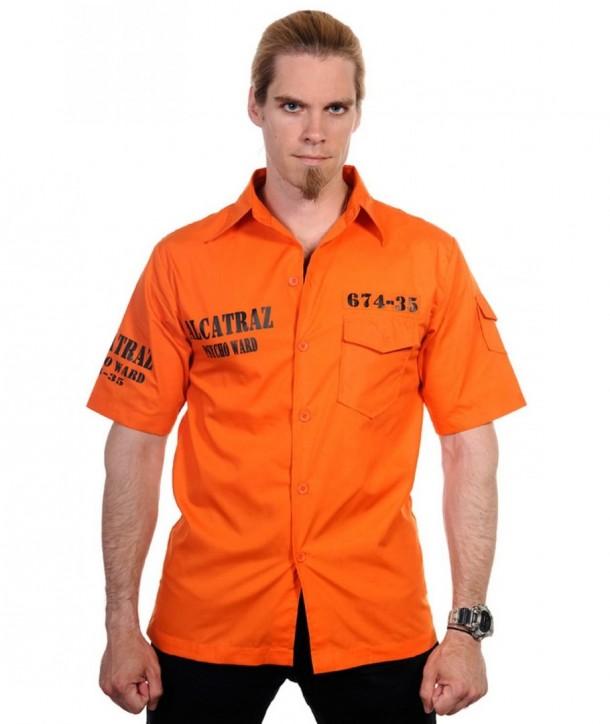 Chemise Banned Clothing Alcatraz Orange