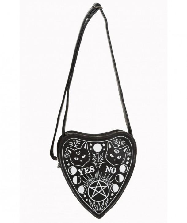Sac Banned Clothing Internal Fire Handbag Noir