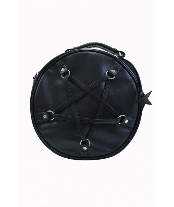 Sac Banned Clothing Time Travel Handbag Noir