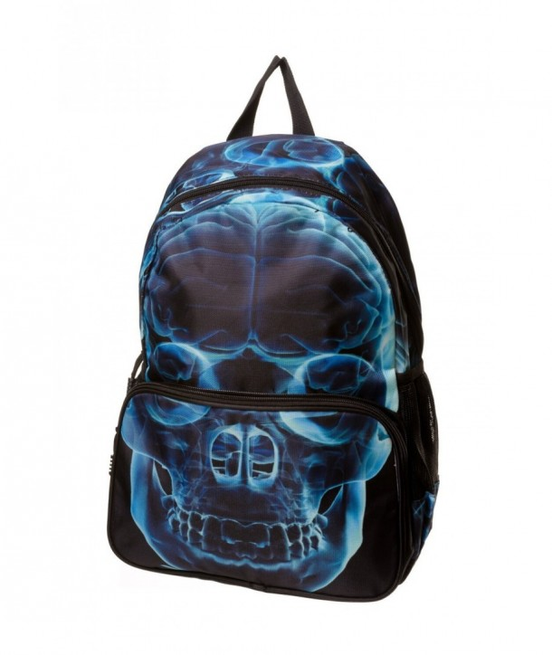 Sac Banned Clothing Xray Skull Backpack Noir