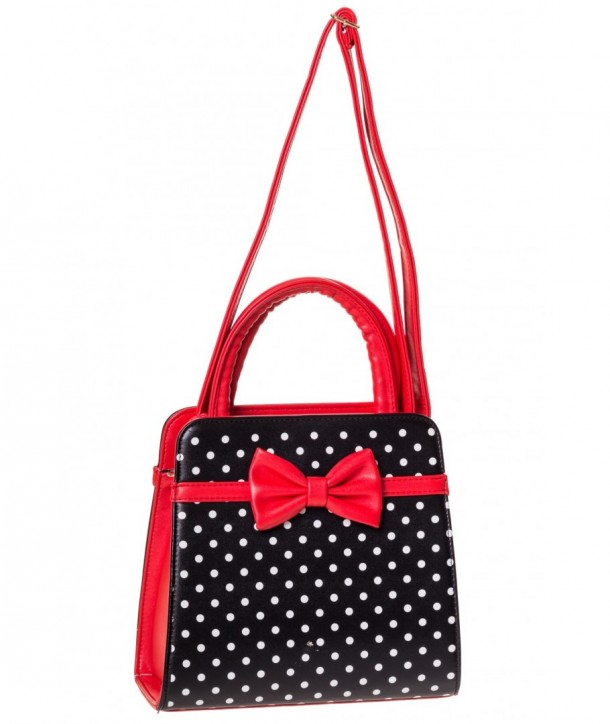 Sac Banned Clothing Carla Bag Noir/Rouge