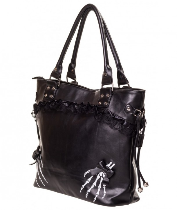Sac Banned Clothing Renegades Handbag Noir/Blanc
