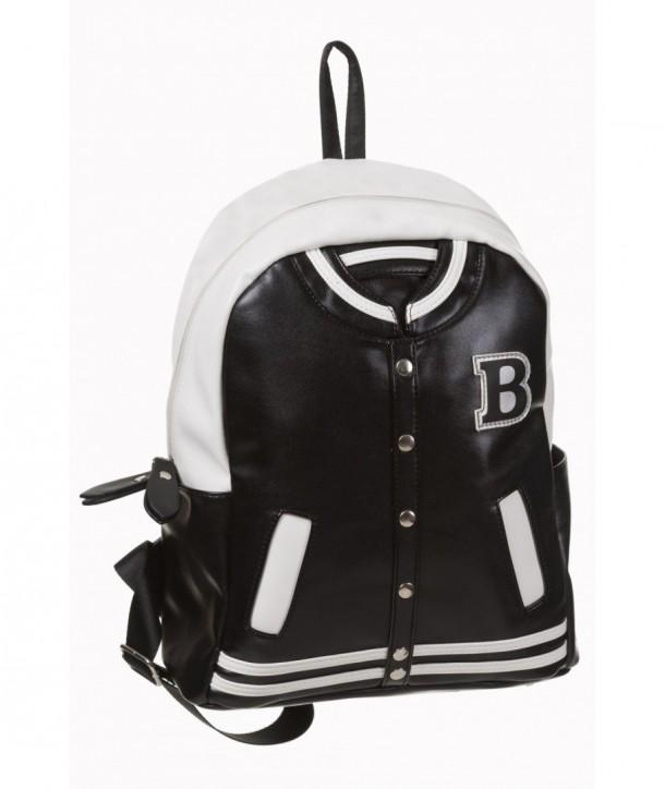 Sac Banned Clothing Prime Time Noir/Blanc