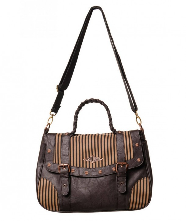 Sac Banned Clothing Marron Stripe