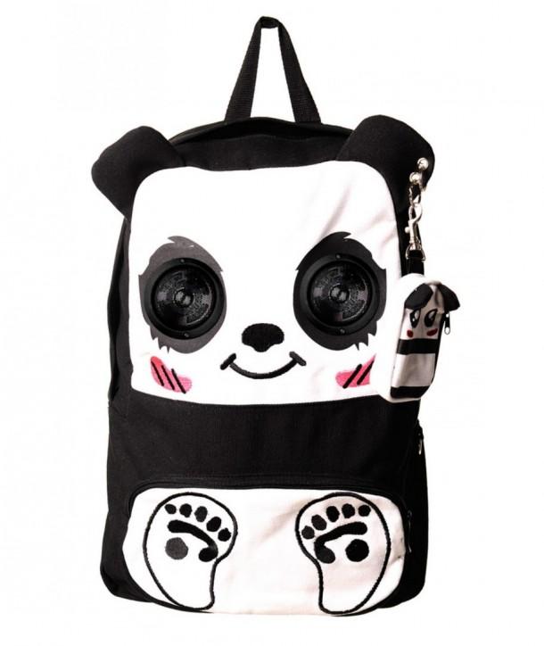 Sac Banned Clothing Panda Speaker Noir