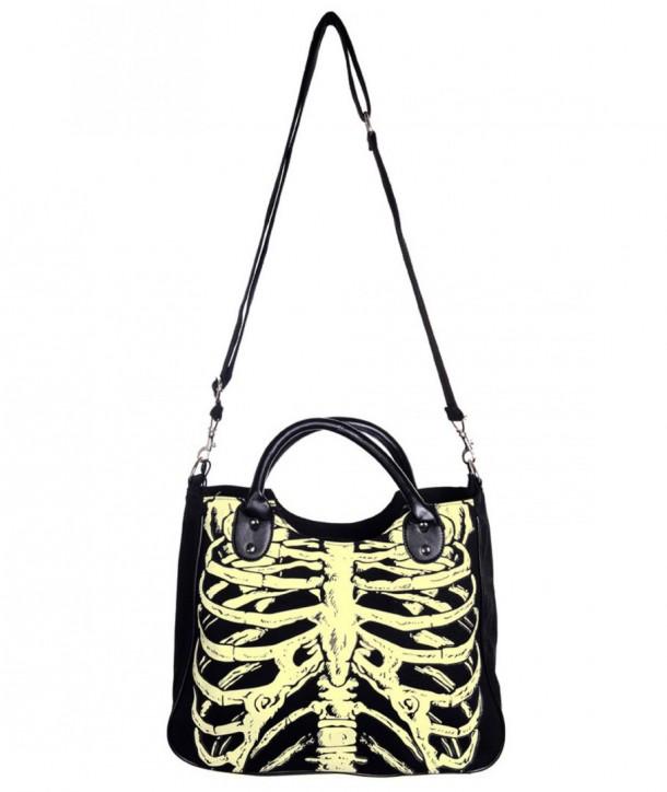 Sac Banned Clothing Glow In The Dark Skeleton
