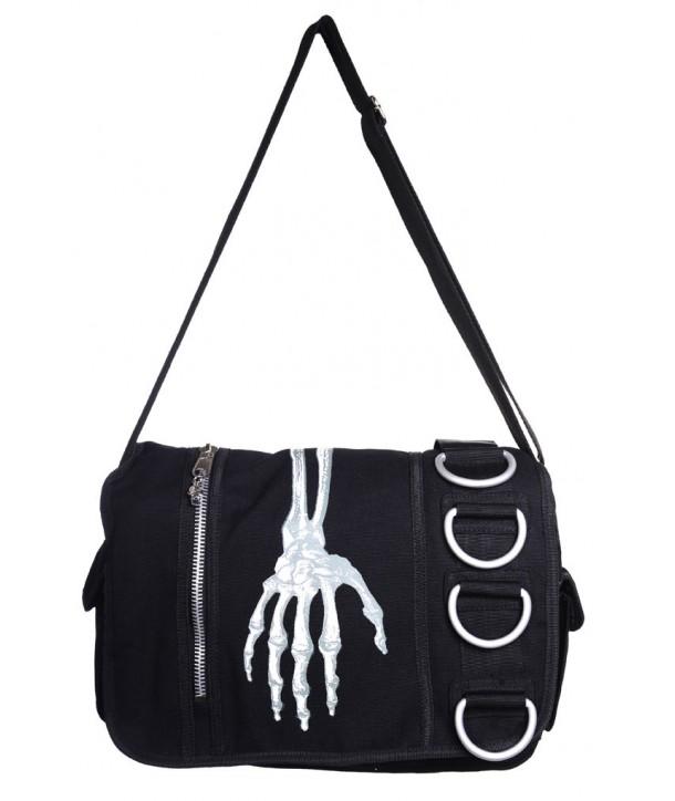 Sac Banned Clothing Skeleton Hand Messenger