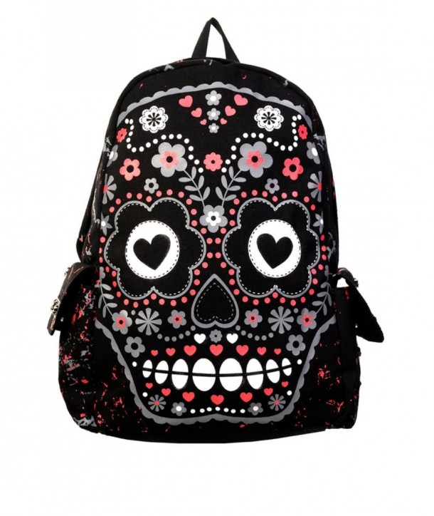 Sac Banned Clothing Sugar Skull