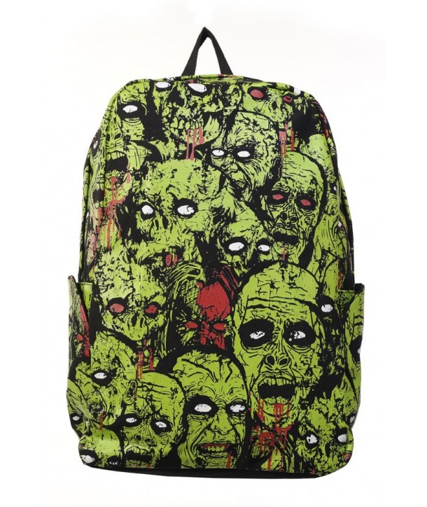 Sac Banned Clothing Zombie Noir/Vert
