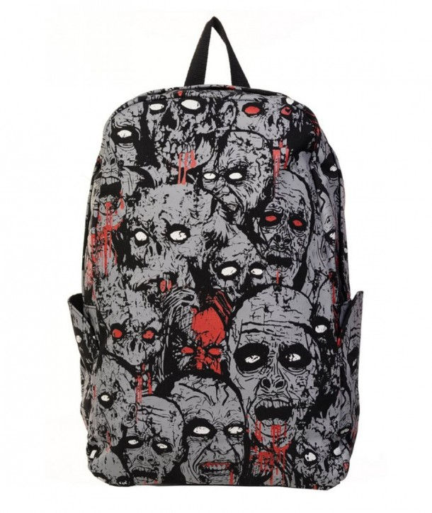Sac Banned Clothing Zombie Noir/Grey