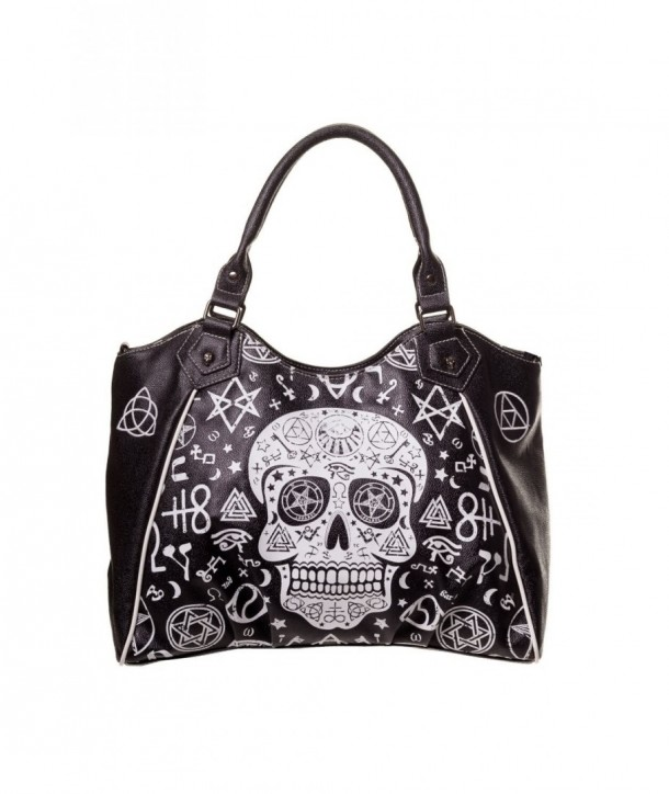 Sac Banned Clothing Skull Pentagram