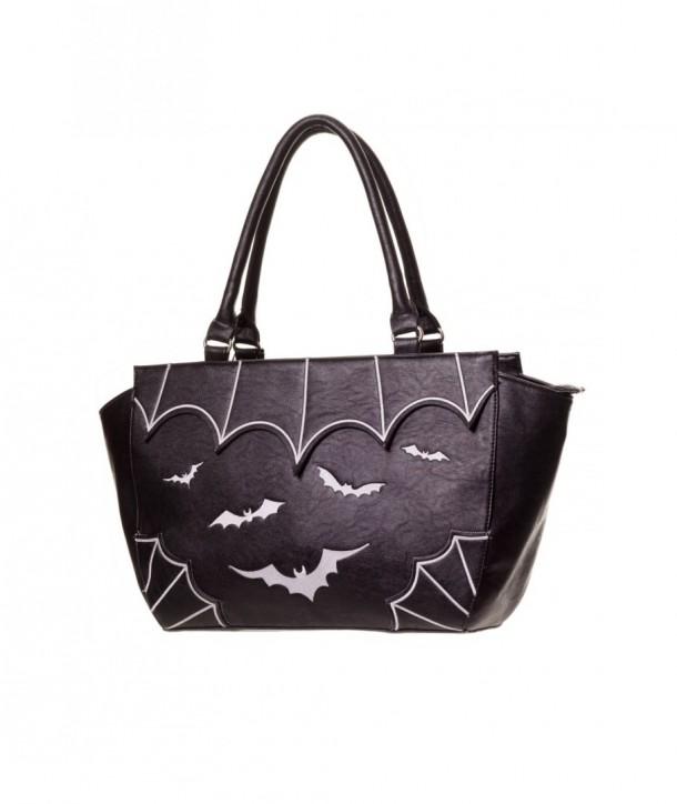 Sac Banned Clothing Bats Noir/Blanc