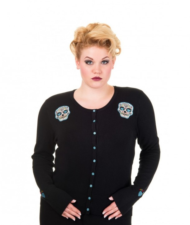 Cardigan Grande Taille Banned Clothing Inferno
