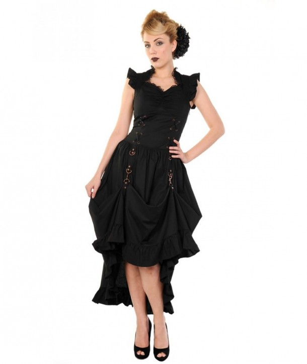 Robe Banned Clothing Black Gothic Copper