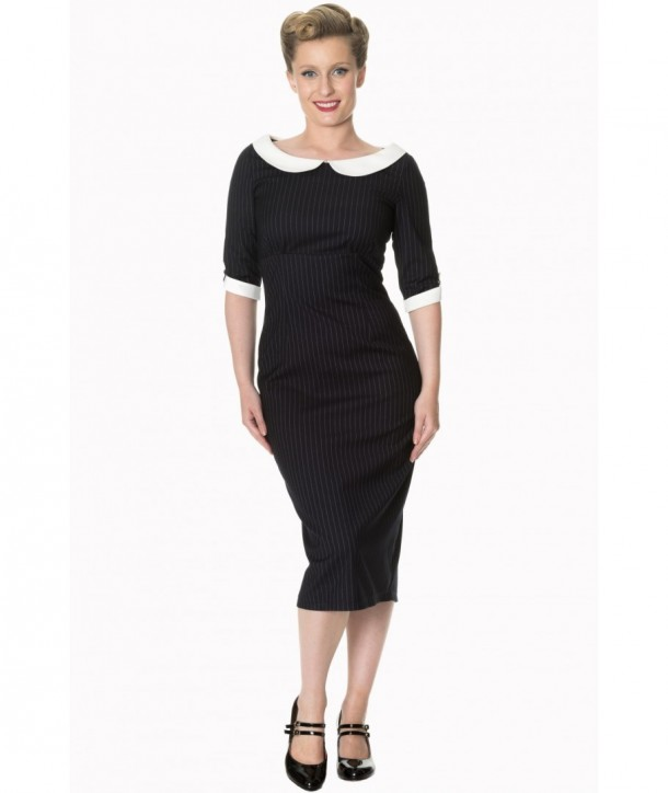 Robe Banned Clothing Poise Dress Navy