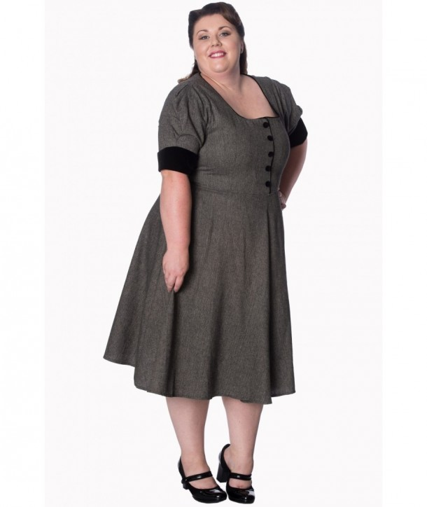 Robe Banned Clothing Lady Luck Dress Noir