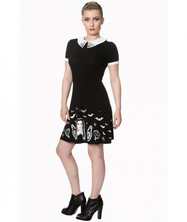 Robe Banned Clothing Black Magic Dress Noir