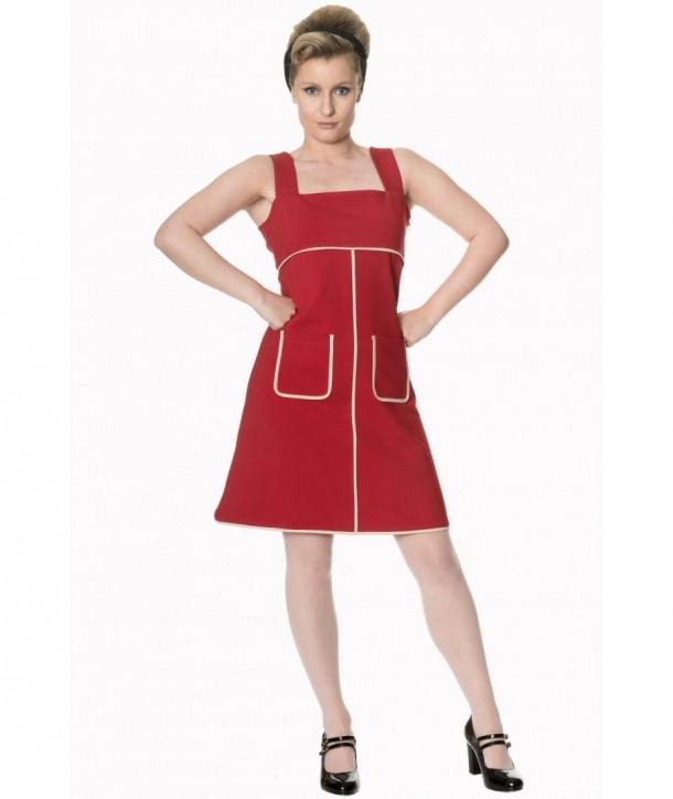 Robe Banned Clothing Studio 64 Dress Rouge