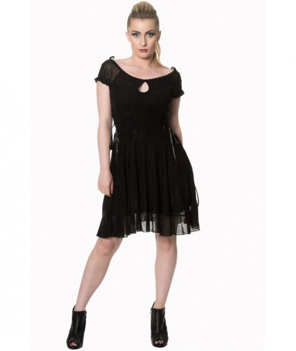 Robe Banned Clothing Pitch Noir Dress Noir