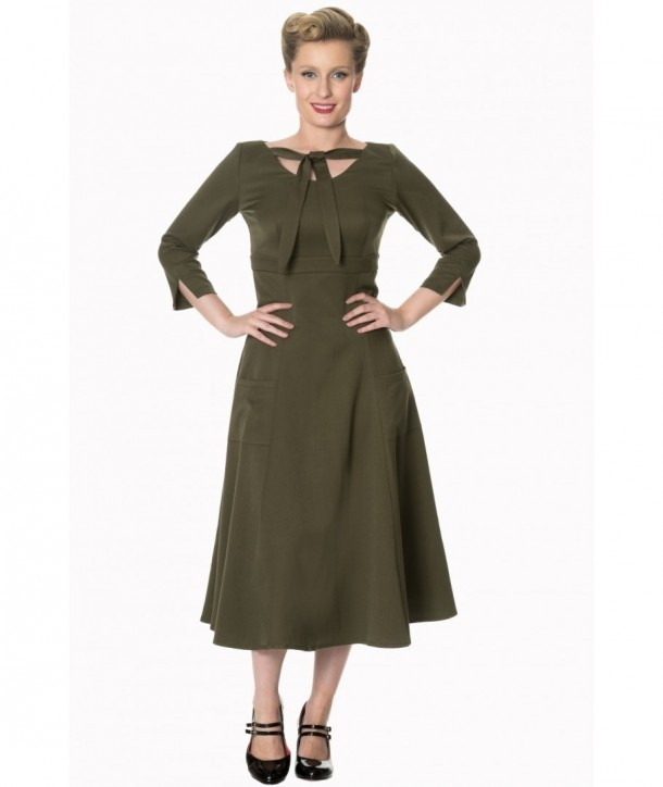 Robe Banned Clothing Eclipse Dress Olive