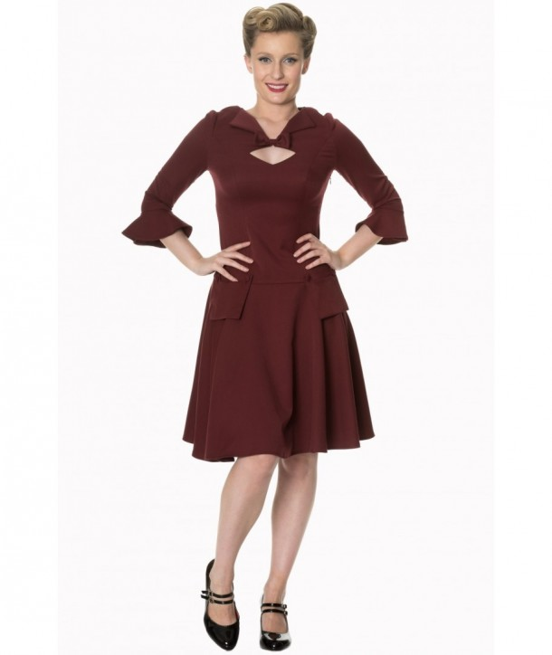 Robe Banned Clothing Everlasting Dress Bordeaux