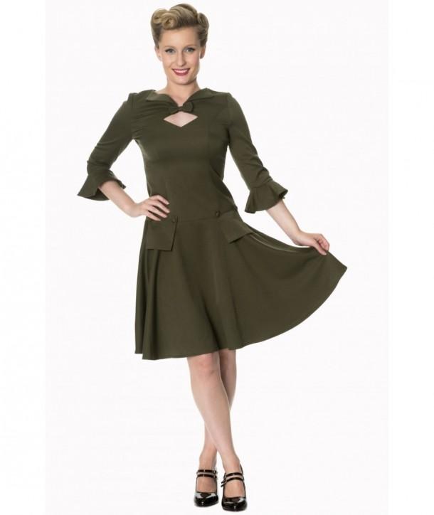 Robe Banned Clothing Everlasting Dress Olive