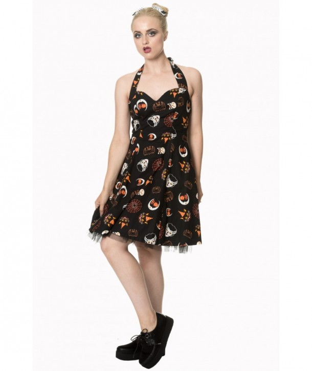 Robe Banned Clothing The Haunted Skirt Noir