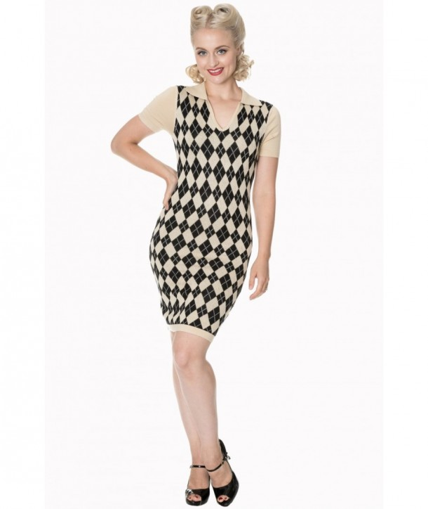 Robe Banned Clothing The High Life Knit Dress Noir