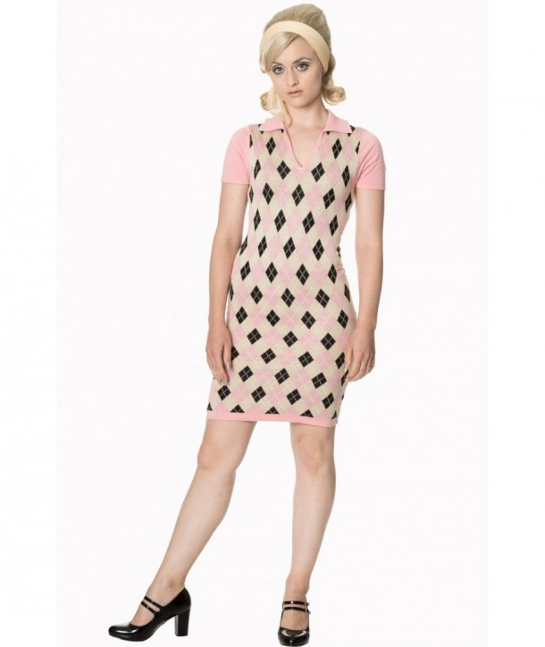 Robe Banned Clothing The High Life Knit Dress Rose