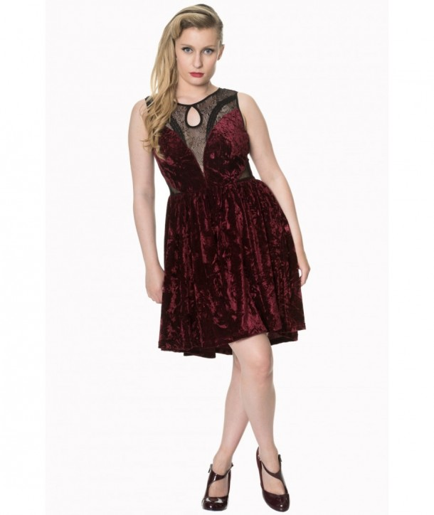 Robe Banned Clothing Shadow Angel Bordeaux