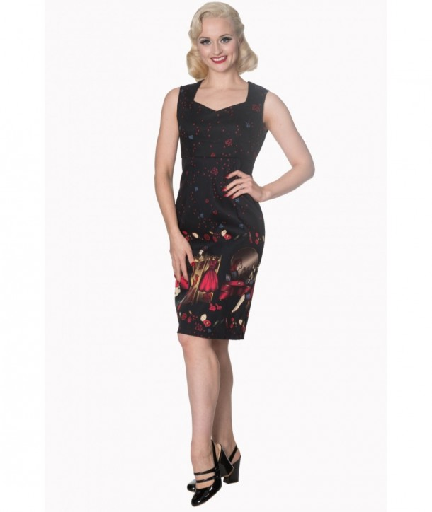 Robe Banned Clothing Vanity Pencil Dress Noir