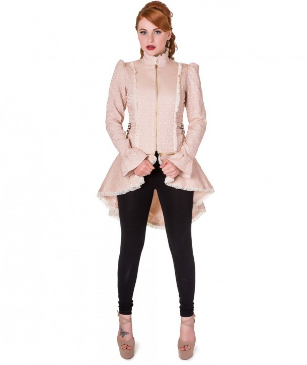 Veste Banned Clothing Rise Of Dawn Beige