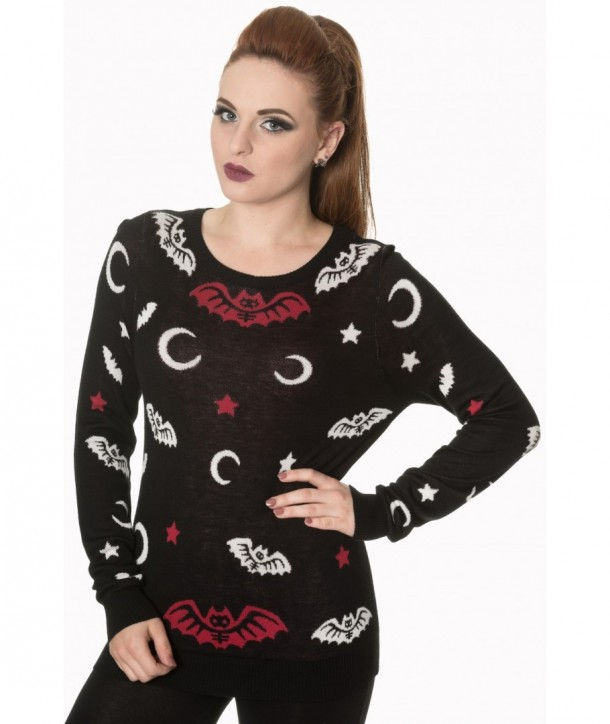 Pull Banned Clothing Bat Knit