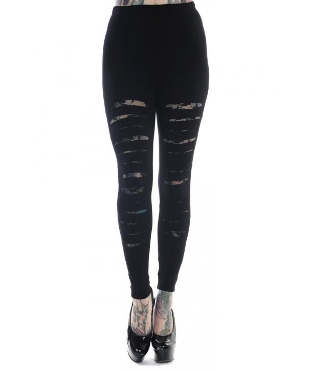 Leggings Banned Clothing Slashed