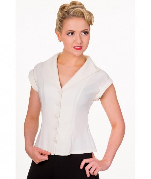 Top Banned Clothing Dream Master Shirt Blanc