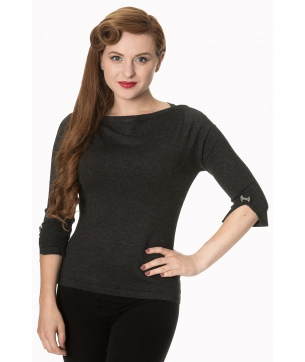 Top Banned Clothing Addicted Sweater Charbon