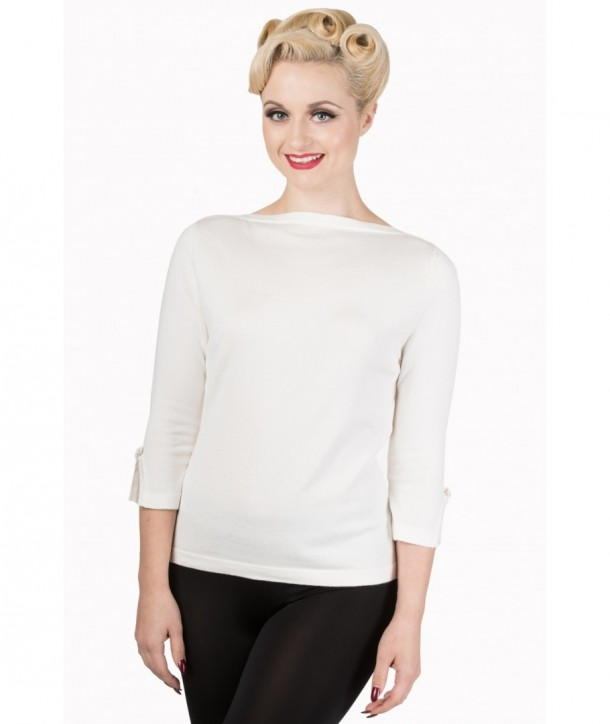 Top Banned Clothing Addicted Sweater Cream