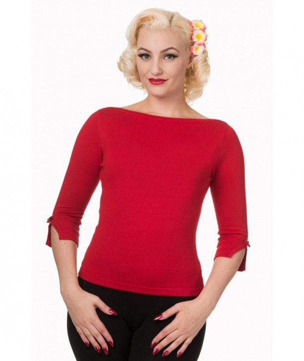 Top Banned Clothing Addicted Sweater Rouge