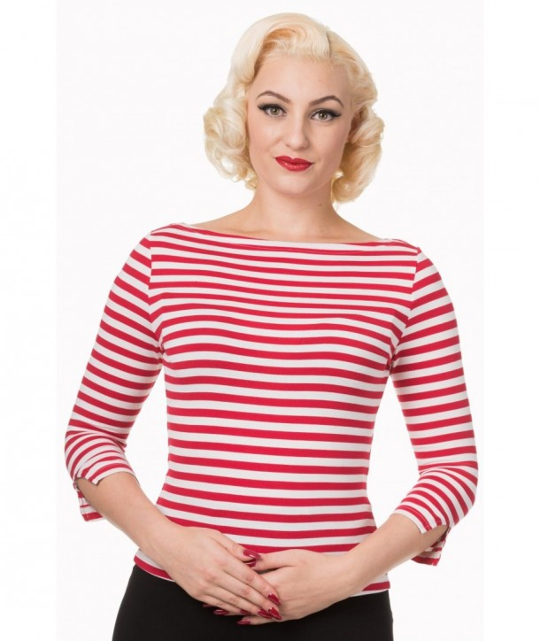 Top Banned Clothing Modern Love Blanc/Rouge