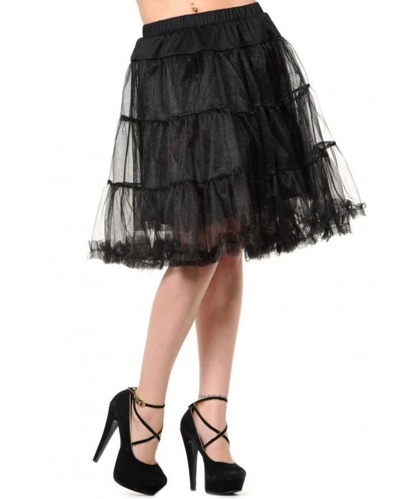 Tutu Banned Clothing Petticoat Skirt Noir
