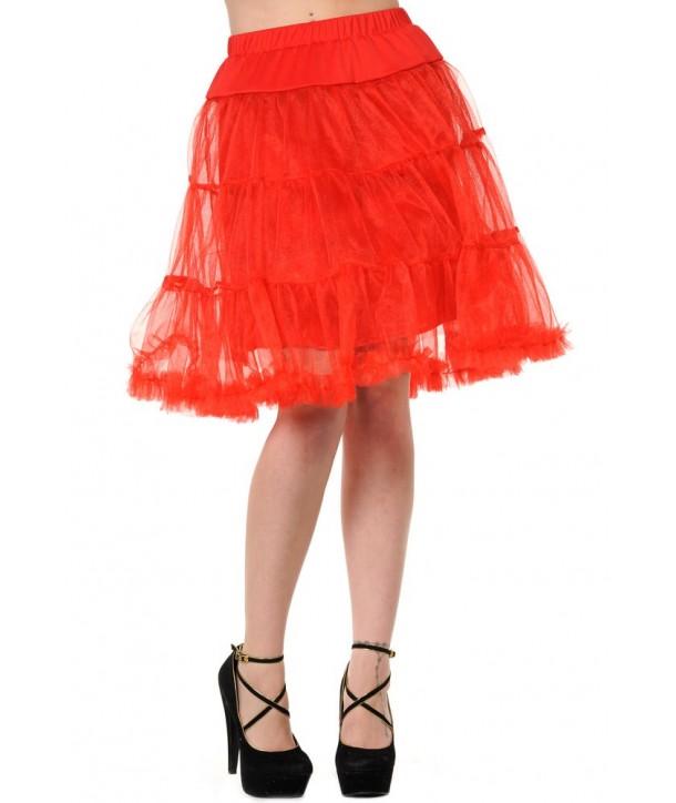 Tutu Banned Clothing Petticoat Skirt Rouge