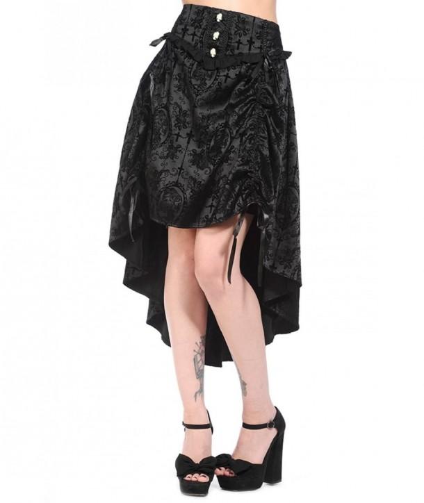 Jupe Banned Clothing Black Gothic
