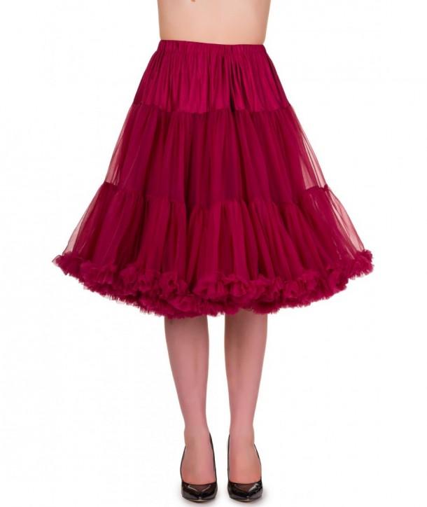 Tutu Banned Clothing Starlite Petticoat Bordeaux
