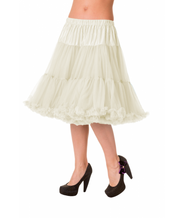 Tutu Banned Clothing Starlite Petticoat Ivory
