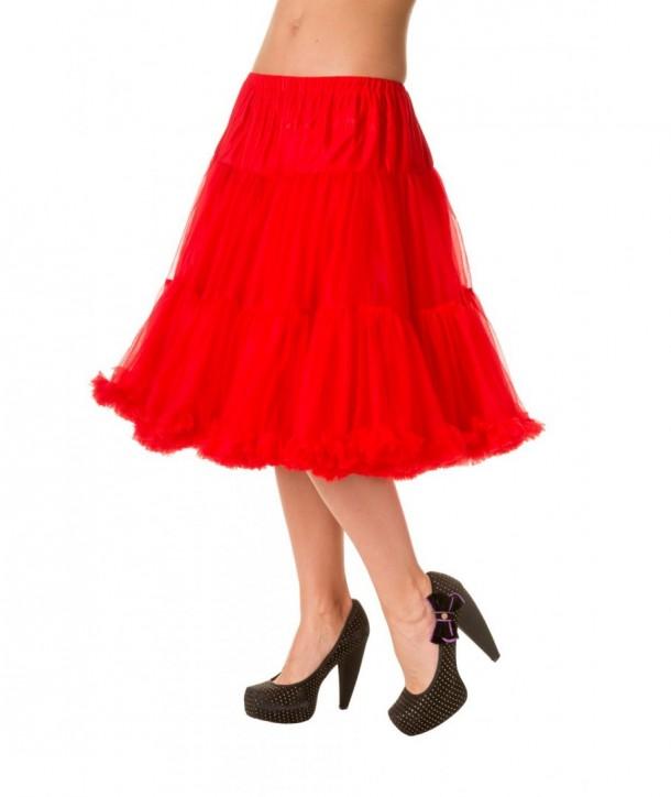 Tutu Banned Clothing Starlite Petticoat Rouge