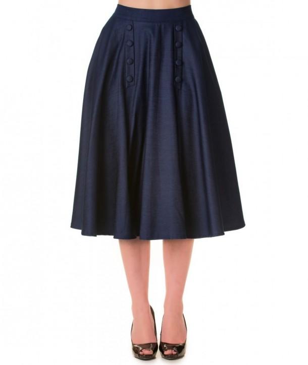 Jupe Banned Clothing Bleuberry Hill Skirt Denim
