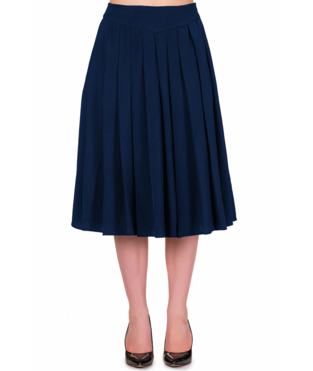 Jupe Banned Clothing Take A Hike Skirt Navy