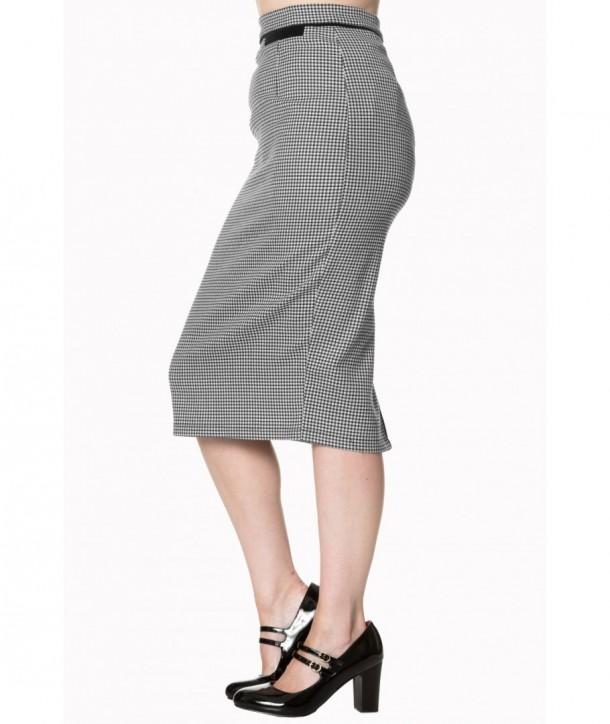 Jupe Banned Clothing Swept Off Her Feet Pencil Skirt Noir