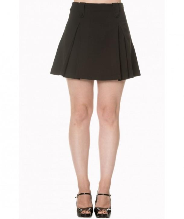 Jupe Banned Clothing Daylight Awaits Skirt Noir
