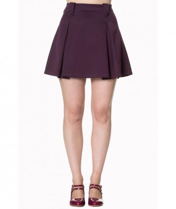 Jupe Banned Clothing Daylight Awaits Skirt Violet